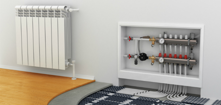 Underfloor _heating _radiators