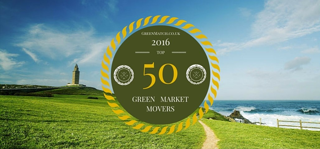 Top 50 Green Market Movers 2016