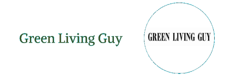 Green Living Guy Small Logo