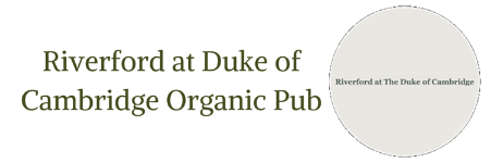 Logo Riverford At The Duke Of Cambridge Organic Pub