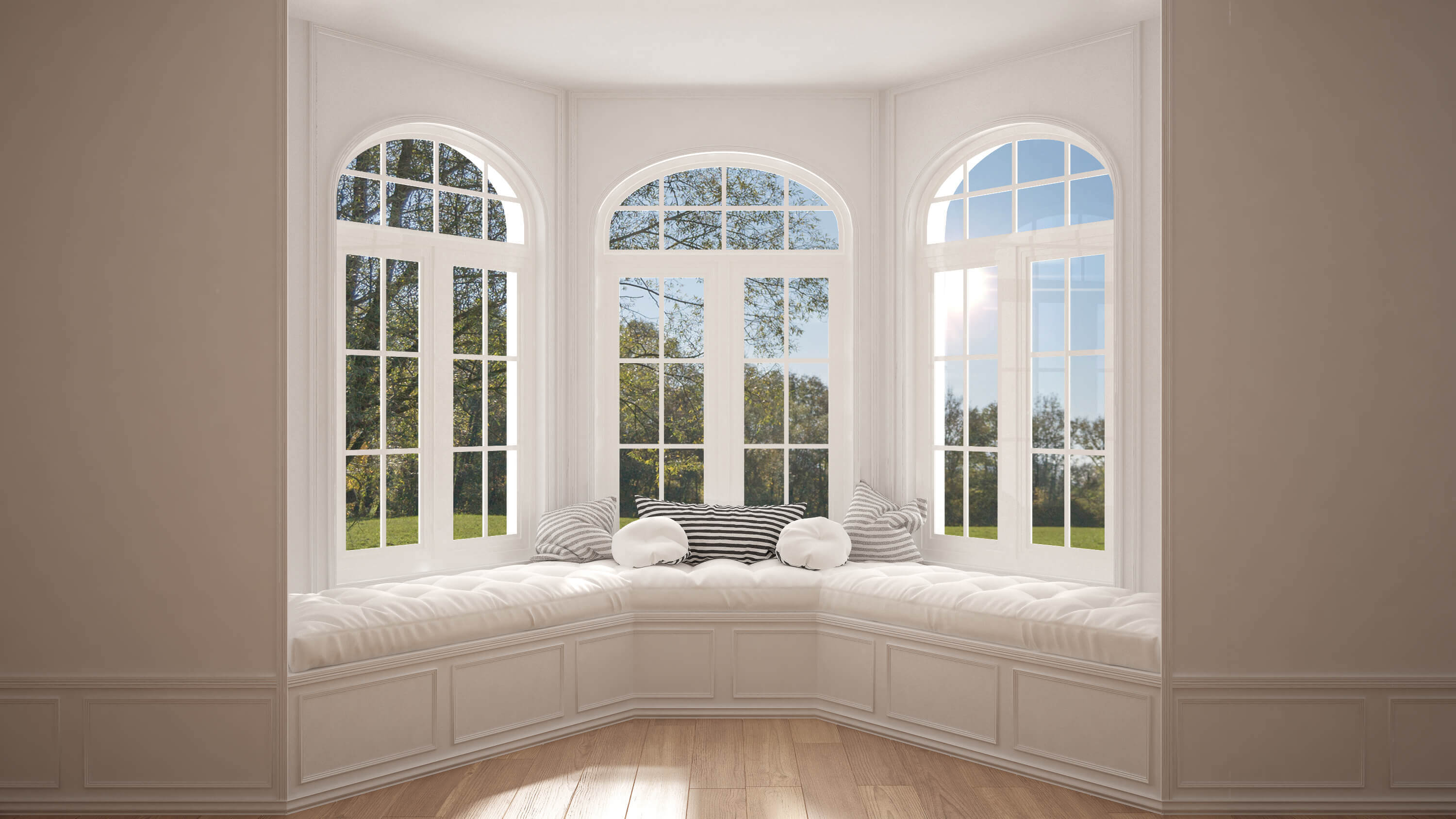 Upvc Windows Home : Choose a upvc bay window for your home greenmatch