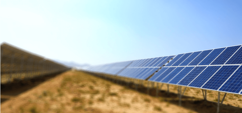 Solar Power Makes Use of Underutilised Land