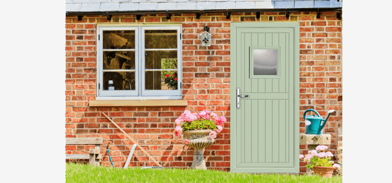 Coloured Upvc Doors In The Uk 2018 Greenmatch