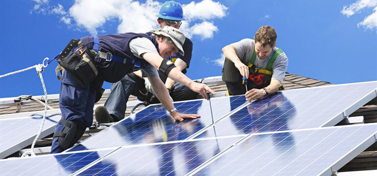 Free Solar Panel Installers