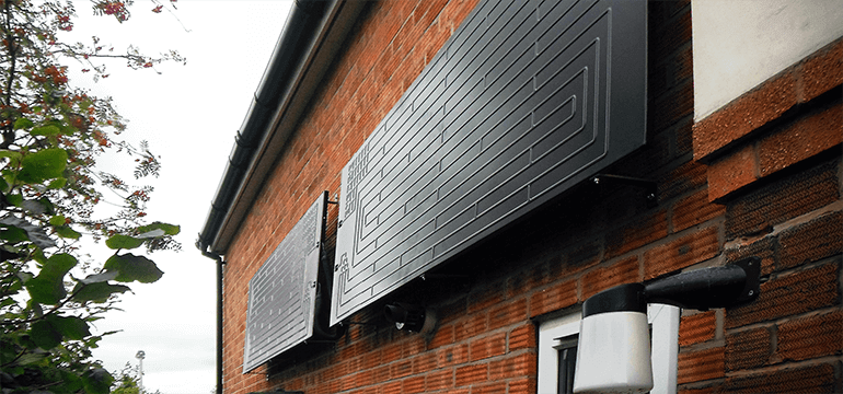 Thermodynamic Panels for Water