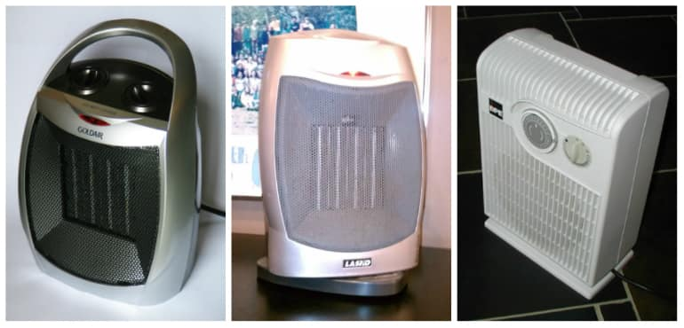 Fan Heater Collage