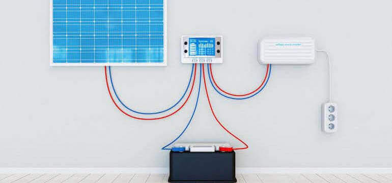 Solar Panel System and Solar Power Inverter