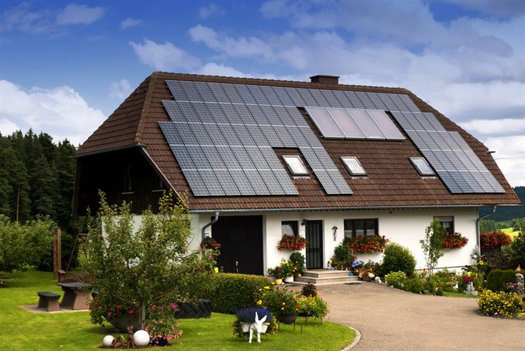 Solar Panel House medium picture