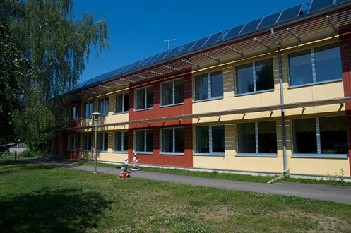 Refurbished With Passive House Components , Kindergarten In Estonia Valga