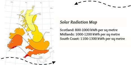 Solar -radiation -map -uk