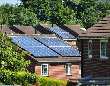 Solar Panels in England